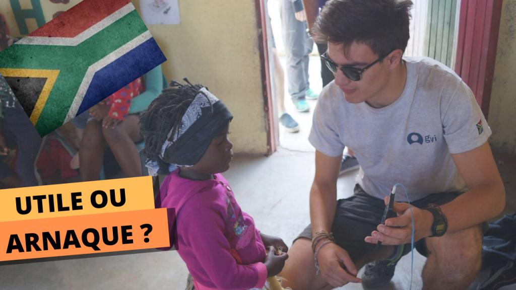 Un bénévole en mission pour une ONG en Afrique du Sud