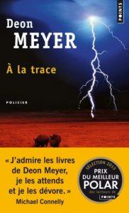 Première de couverture de À la trace - Deon Meyer
