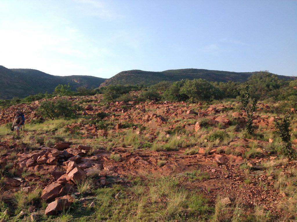 Les montagnes du Drakensberg en Afrique du Sud.