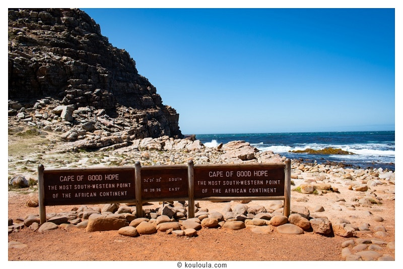 Le Cape of Good Hope !