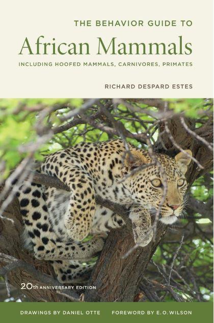 Première de couverture The Behaviour Guide to African Mammals -  Richard Despard Estes