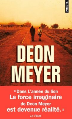 Première de couverture L'année du Lion - Deon Meyer