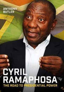 Première de couverture Cyril Ramaphosa The Road to Presidential Power - Anthony Butler